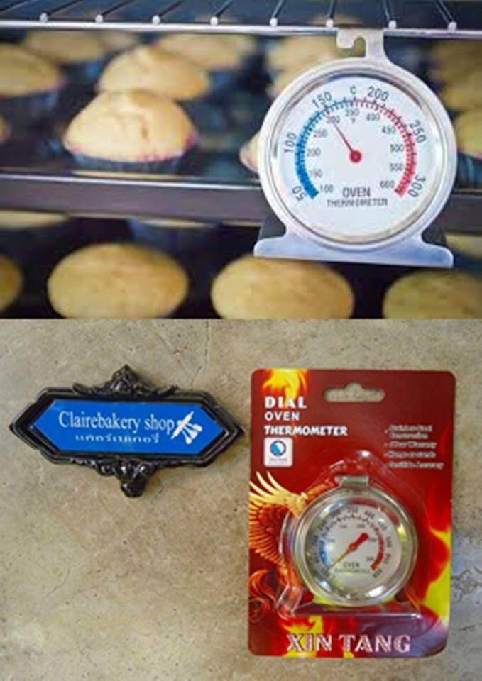 ที่วัดอุณหภูมิในเตาอบ วัดอุณหภูมิ.
