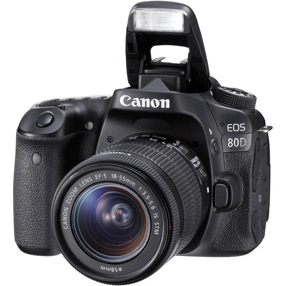 Canon Eos 80d Kit Lens 18-55mm Is Stm (มีเมนูไทย ประกันร้าน Ec-Mall).