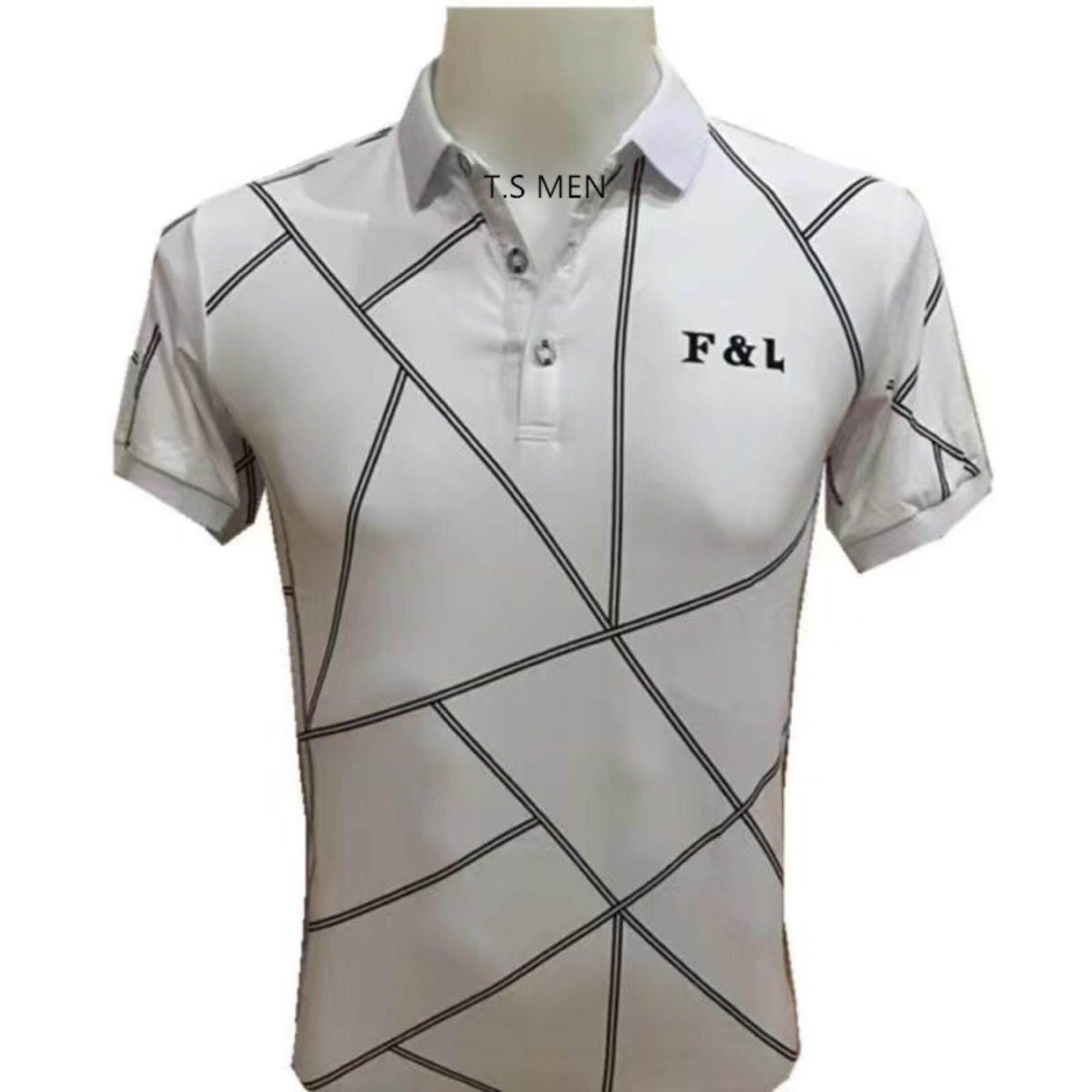 ขาย เสื้อยืดผู้ชายMen S T Shirtเสื้อยืดแฟชั่นผู้ชาย Polo Shirtเสื้อโปโล ใน กรุงเทพมหานคร