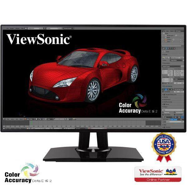 Viewsonic Vp2468 24 Ips 1080P Pro Monitor Hdmi Displayport Daisychain Hardware Calibration เป็นต้นฉบับ