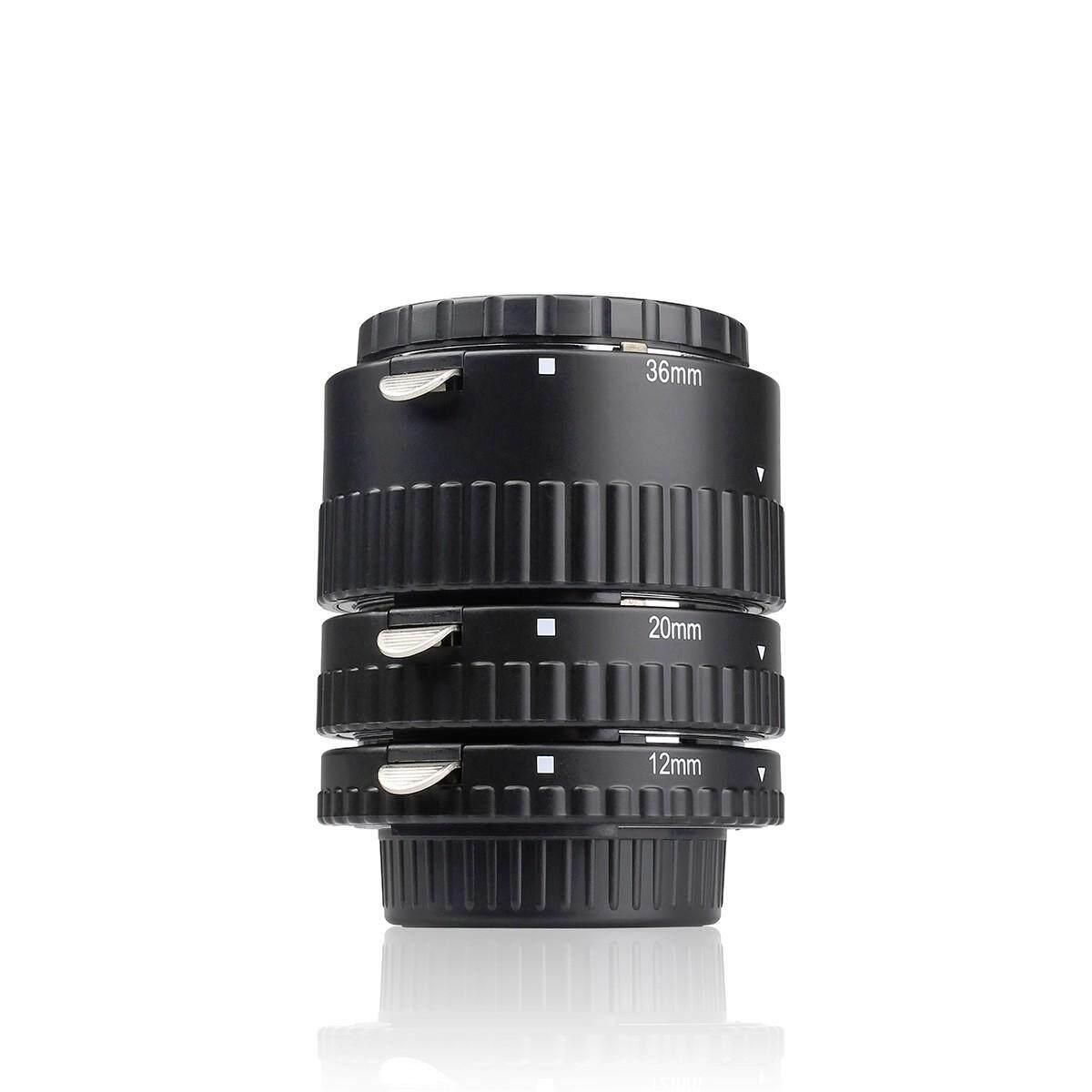 ท่อมาโคร Meike Mk-N-Af1-A สำหรับกล้อง Dslr Nikon เมาว์เหล็กแข็งแรง.