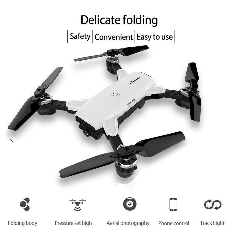 ความสูงคงที่ / กล้อง WiFi 2 ล้านพิกเซลความดันอากาศเคลื่อนที่การควบคุมการถ่ายภาพความสูงระดับสูงเช่นเที่ยวบินวิถีลูกโป่งแบบพับได้ RC Pocket Drone - WIFI FPV CAMERA 720P