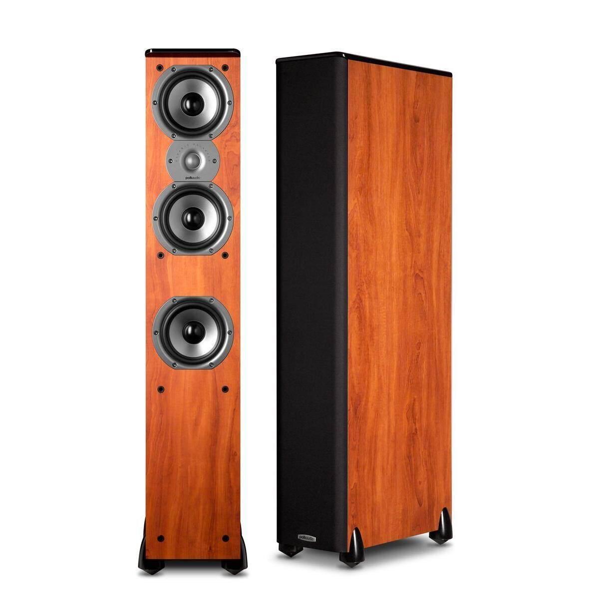 ยี่ห้อนี้ดีไหม  ชลบุรี Polk Audio ลำโพงTower รุ่น TSI-400-Cherry(เป็นคู่ลำโพง 2 ชิ้น)