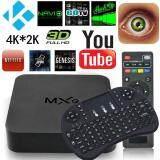 ขอนแก่น TV Box 4K Android Smart Box Quad Core รุ่นใหม่ปี 2018 รุ่น MXQ-4K FREE MINI I8