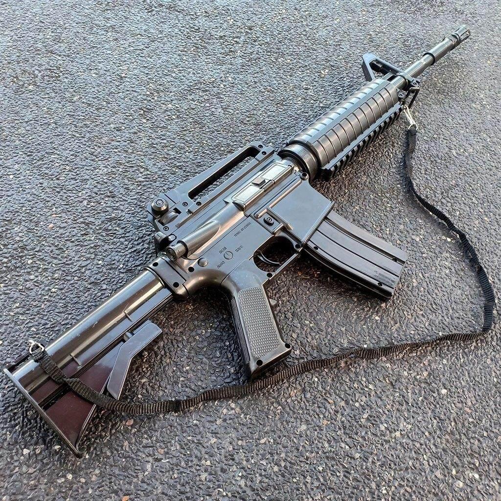 Khoaoat Toys ปืนอัดลม M16-A1d By Khoaoat Toys.
