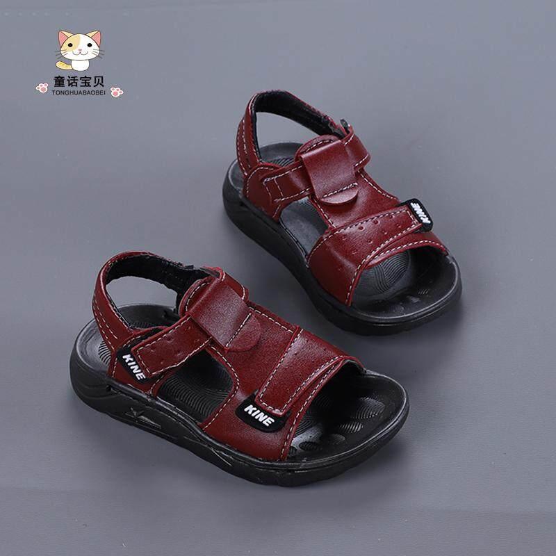 รองเท้าลำลองสไตล์เกาหลีรองเท้าแตะพื้นรองเท้าอ่อนกันลื่นเด็กเล็ก.