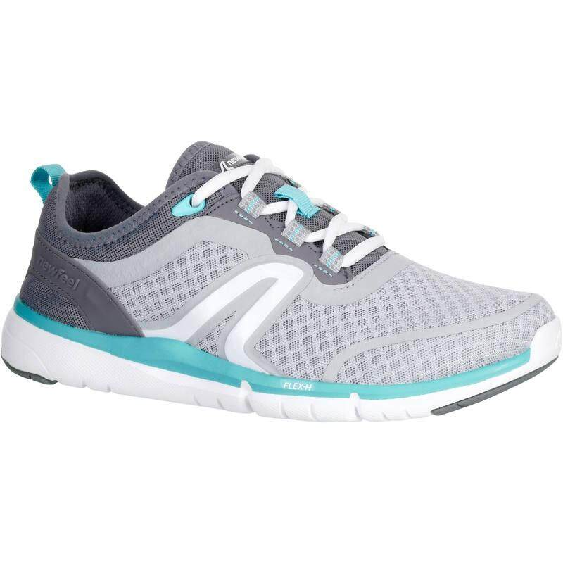 Newfeel รองเท้าใส่เดิน รองเท้าผ้าใบ ออกกำลังกายเพื่อสุขภาพสำหรับผู้หญิงรุ่น Soft 540 Mesh (สีฟ้า Turquoise) By Hoolaa.