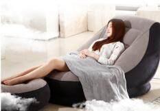 ชุด โซฟาเป่าลม พร้อมเก้าอี้วางเท้า นุ่มนอนสบาย ตลอดวัน