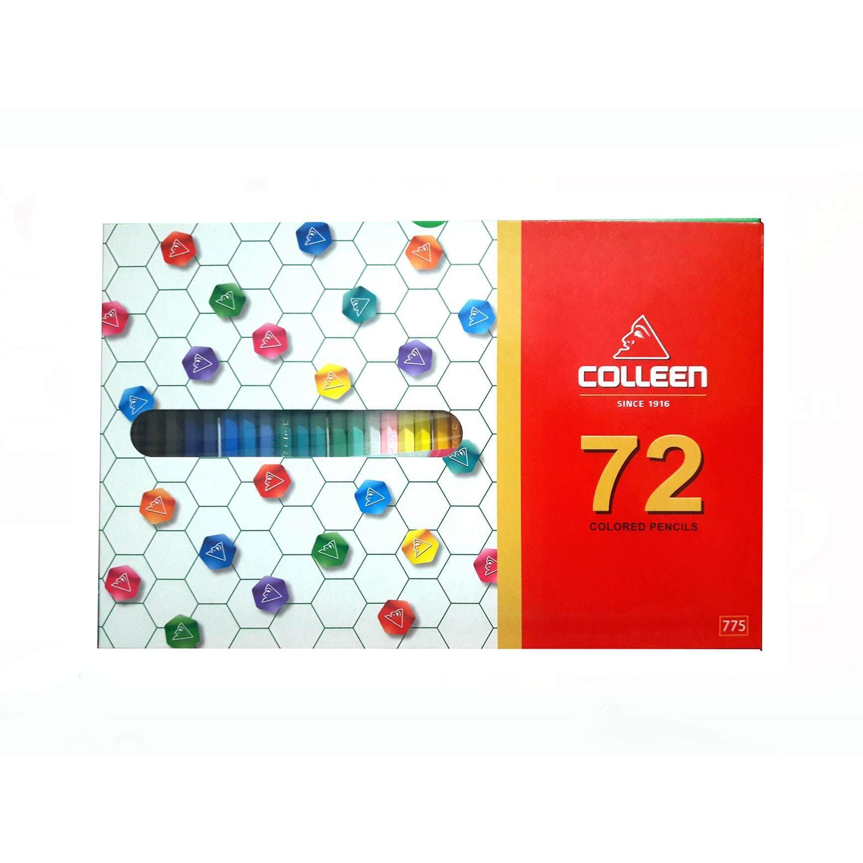 ราคา Colleen No 775 สีไม้คลอลีน 72 สี 72ด้าม ถูก