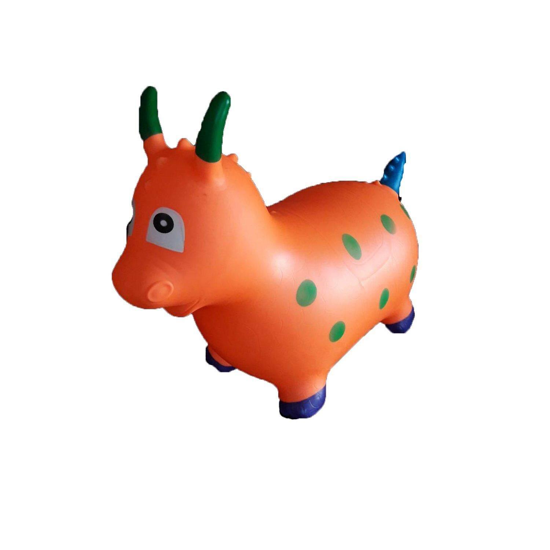 ตุ๊กตายางสัตว์รูป มังกร นั่งกระโดด เด้งดึ้ง By Oktoyland.