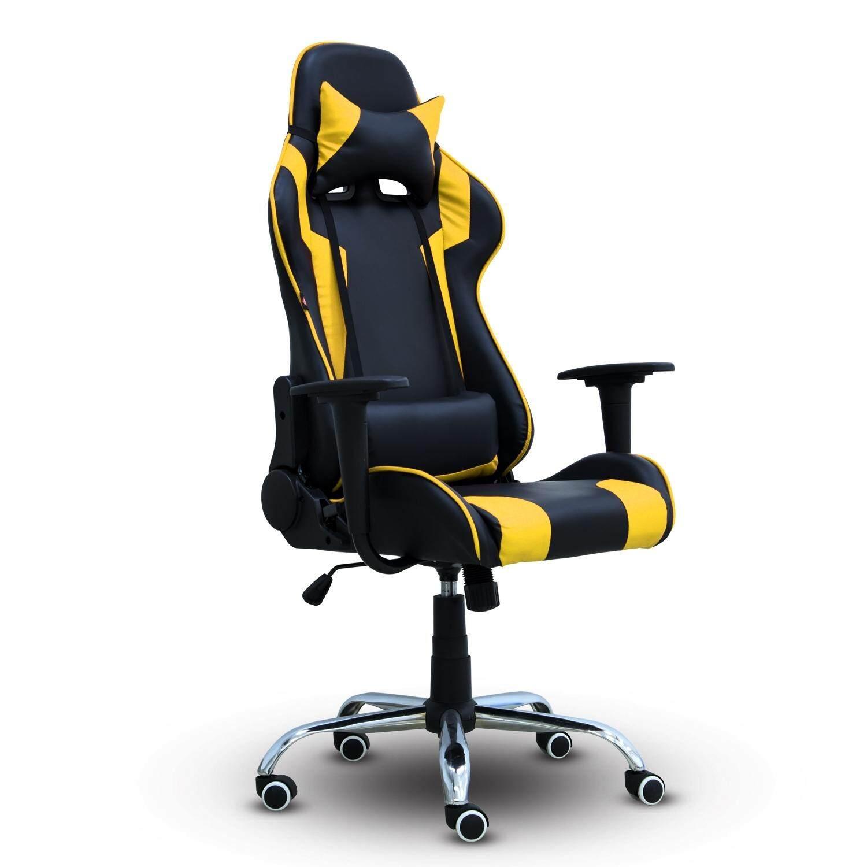 B&G เก้าอี้เล่นเกม Raching Gaming Chair - รุ่น E-01