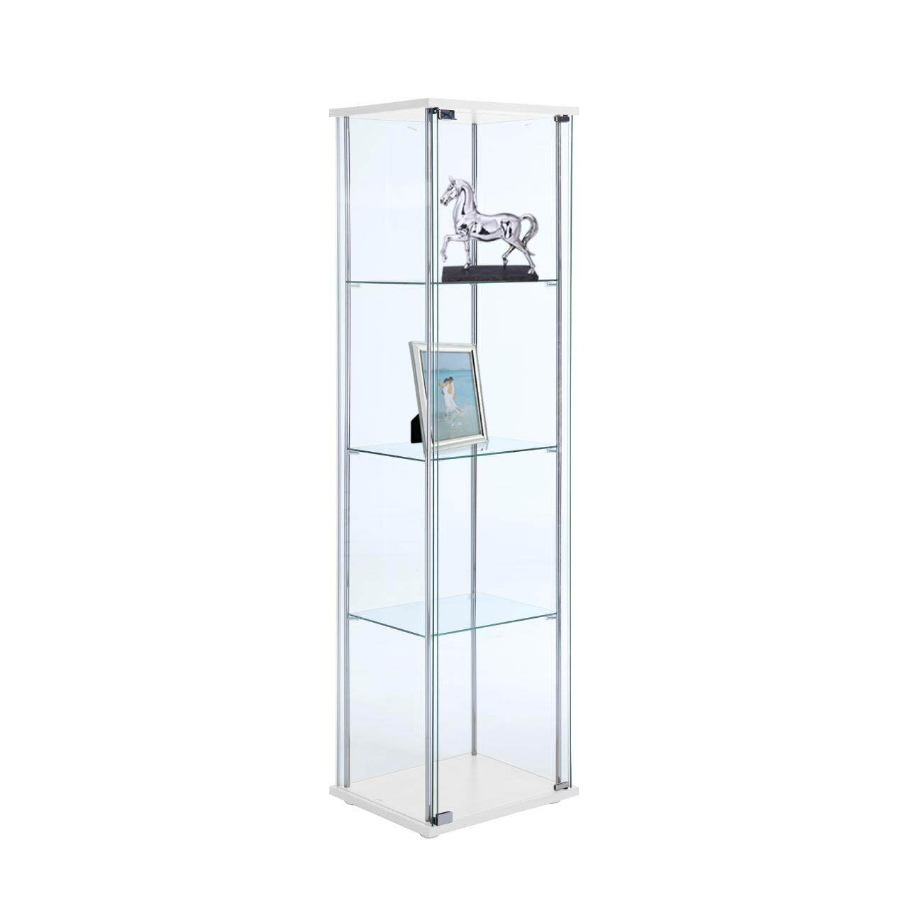 Winner Furniture ตู้โชว์กระจก รุ่น กลอรี่ 42.5 ซม. - สีขาว By Index Living Mall Official Store