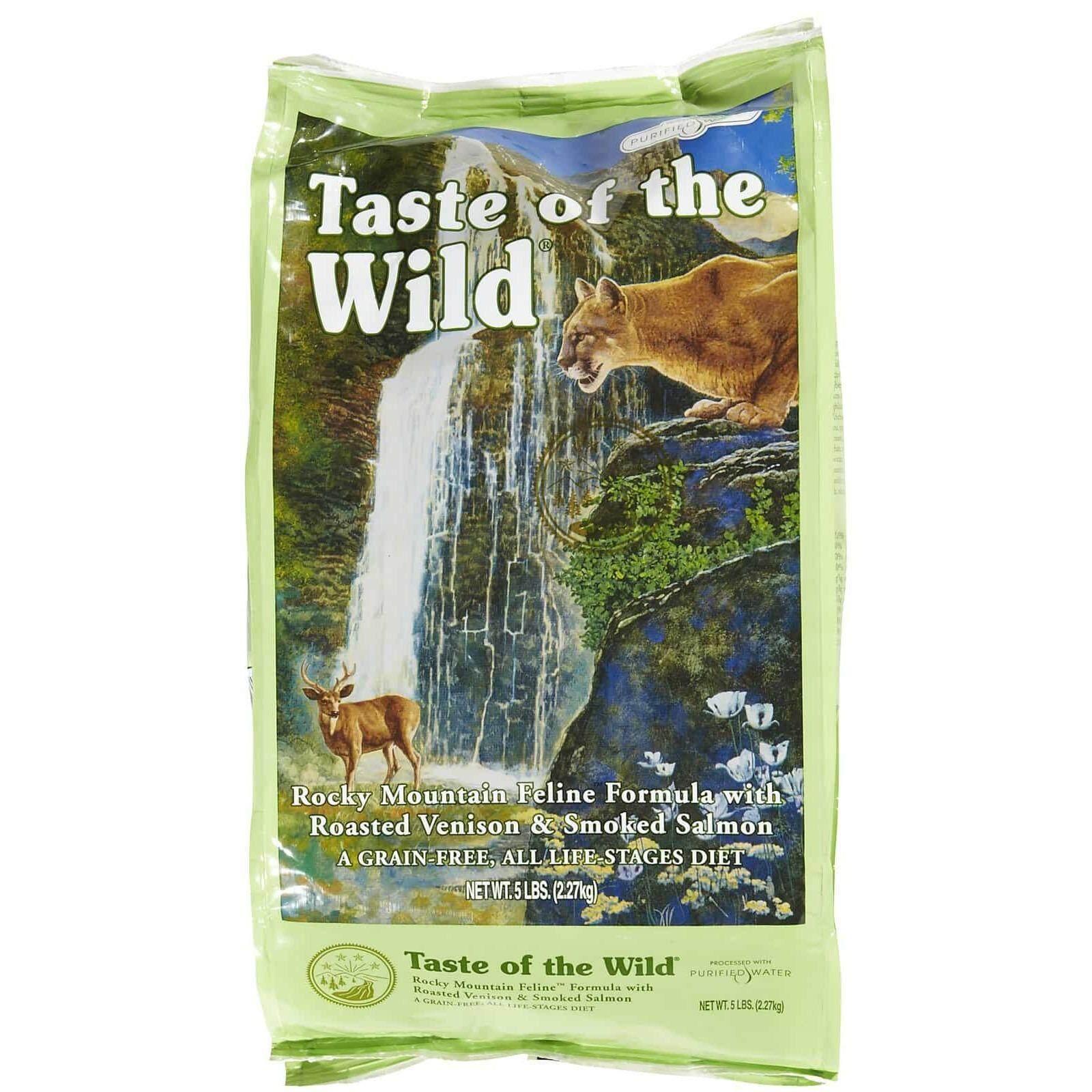 ซื้อ Taste Of The Wild Rocky Mountain อาหารแมวทุกช่วงวัย สำหรับแมว 1 5Lb หรือ 68Kg ถูก Thailand