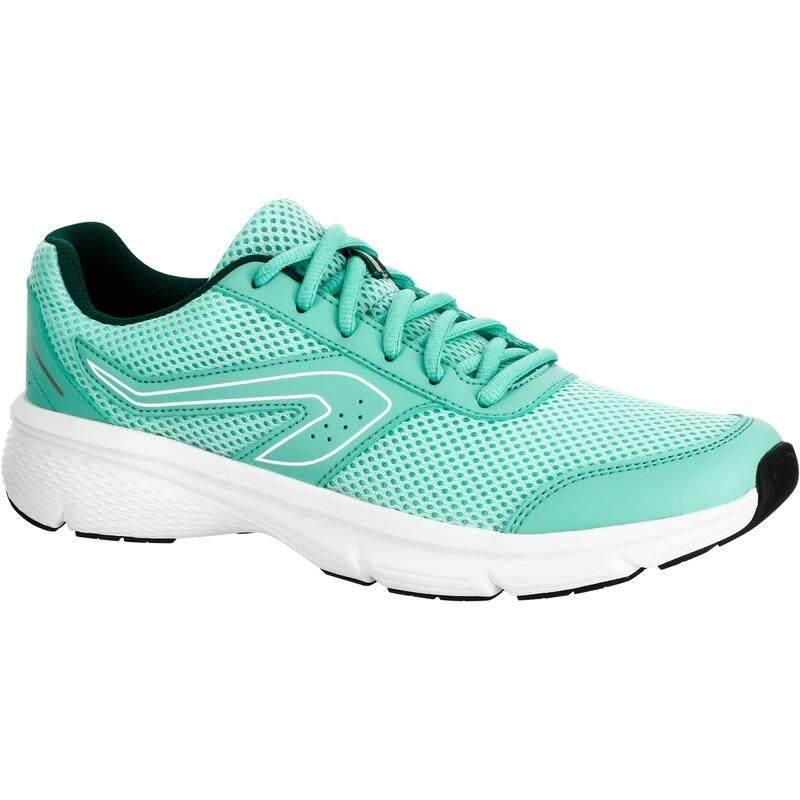 รองเท้าวิ่งจ็อกกิ้งสำหรับผู้หญิงรุ่น Run Cushion (สีเขียวอ่อน) By Noomnoomshop.