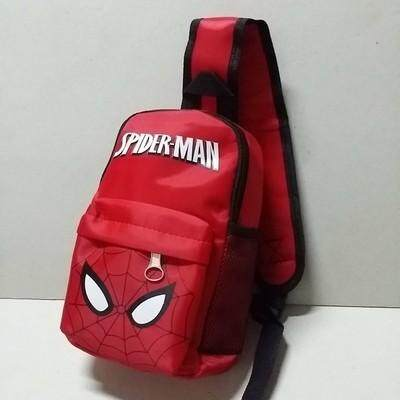 เก็บเงินปลายทางได้ ส่งฟรี Kerry!!! ขาย เป้คาดอก เป้เฉียง เป้สะพายเฉียง Sholder bag สไปเดอร์แมน Spiderman
