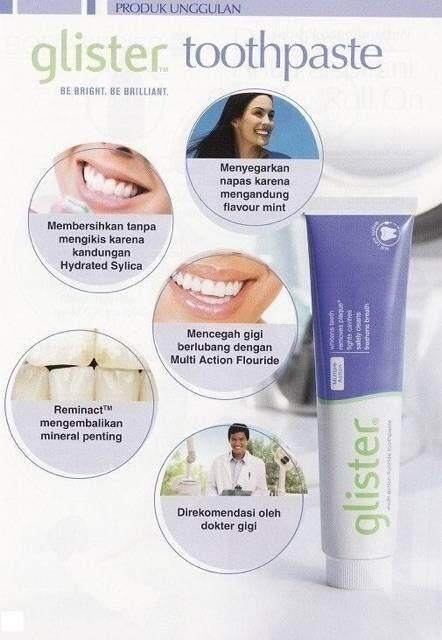 สุดยอดสินค้า!! (ส่งฟรี kerry Express)  Amway ยาสีฟันกลิสเทอร์  NEW ลอทใหม่จาก Shop •ยาสีฟันลดกลิ่นปาก• ยาสีฟันแอมเวย์ ขนาด 200 กรัม (1กล่อง)