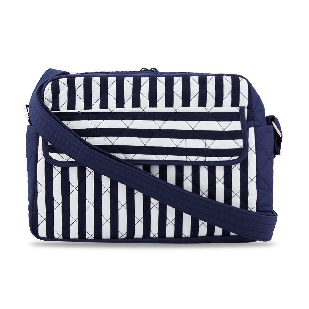 กระเป๋าสะพายข้าง NaRaYa Stripes Quilted