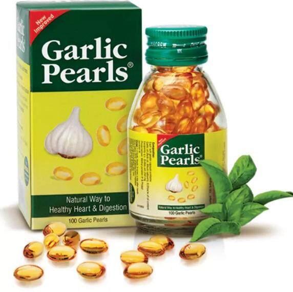 Garlic Pearls น้ำมันกระเทียม (ส่งฟรี) สมุนไพร บำรุงร่างกาย 100 เเคปซูล By Cute Beauty Store.