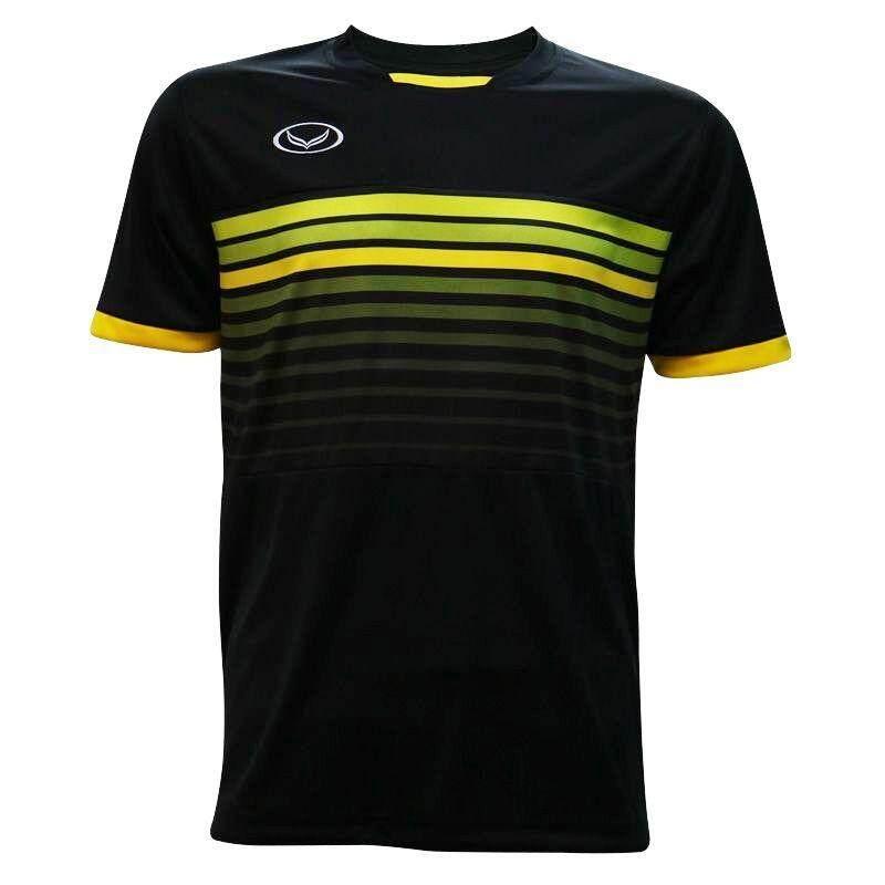 ส่วนลด แกรนด์สปอร์ตเสื้อกีฬาฟุตบอล สีดำ