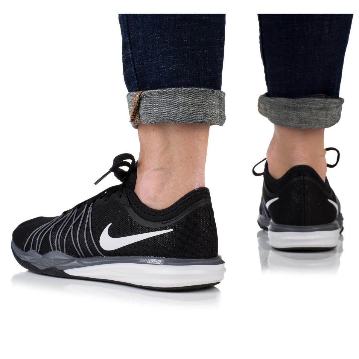 ลดสุดๆ NIKE รองเท้าผ้าใบ ไนท์กี้ Dual Fusion Hit  (Grey/Black -สัมผัสเบาอย่างเป็นธรรมชาติ) ++ของแท้100% พร้อมส่ง ส่งด่วน Kerry++