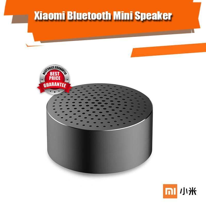 ยี่ห้อนี้ดีไหม  สงขลา ลำโพง Xiaomi บูลทูธ ไร้สาย  MINI Portable Bluetooth Speaker แบบพกพา Bluetooth 4.0 Aluminium Polished
