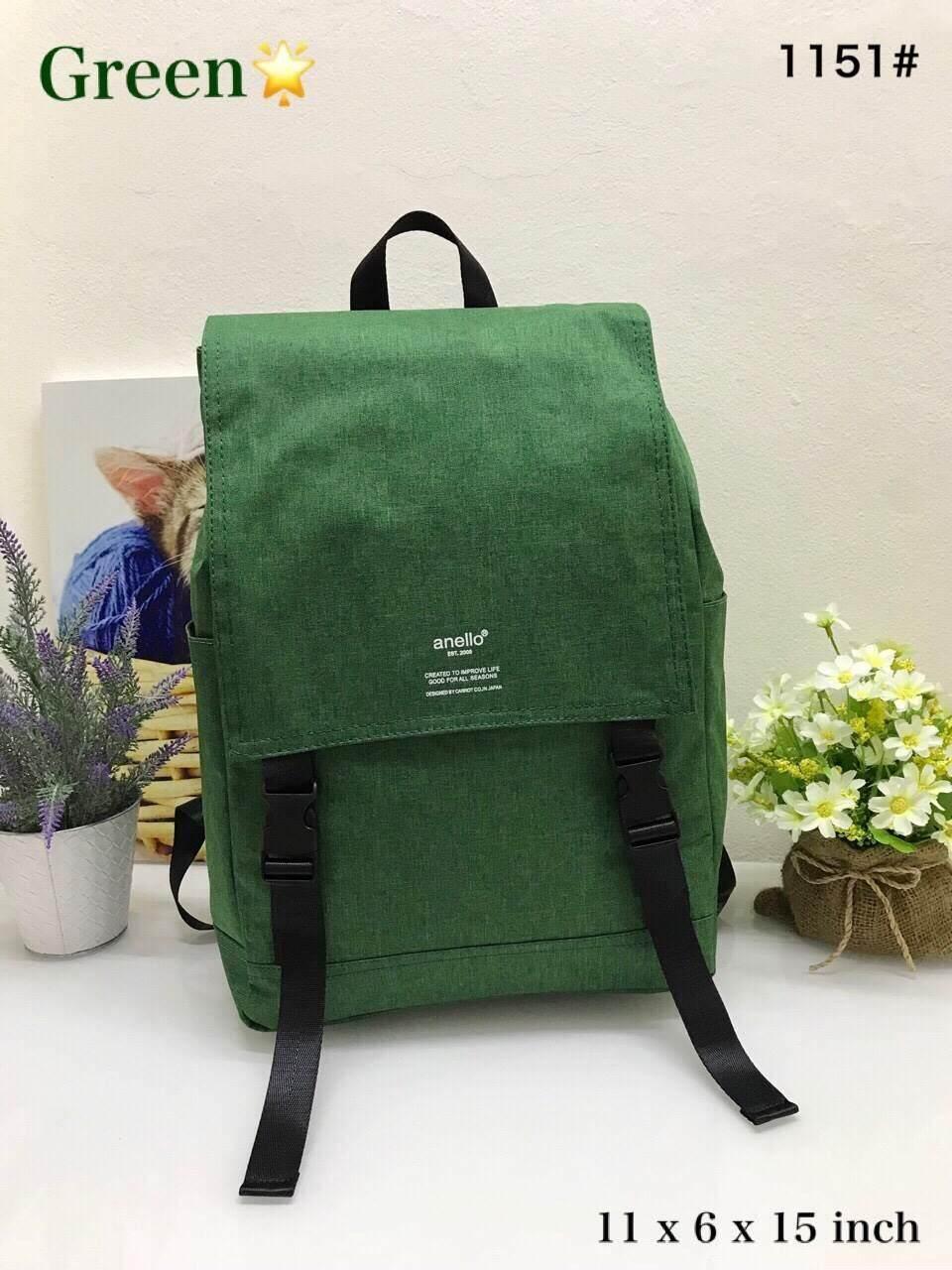 สอนใช้งาน  สุพรรณบุรี Anello Flap Backpack  (Journaling Bag) กระเป๋าเป้เนื้อผ้าแคนวาส กันน้ำ  ของแท้ %