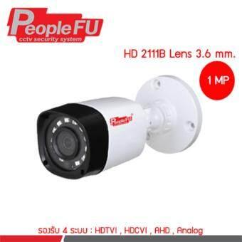 PeopleFu HD 2111B Lens 3.6 mm.
