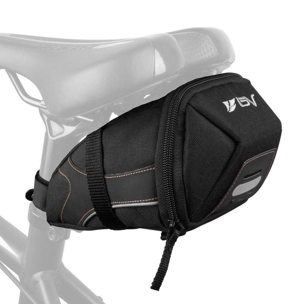 Bv : Bvbv-Sb2-M* อุปกรณ์เสริมจักรยาน Bicycle Y-Series Strap-On Bike Saddle Bag By Tadee.
