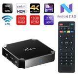 บัตรเครดิตซิตี้แบงก์ รีวอร์ด  ฉะเชิงเทรา กล่องทีวีดิจิตอลแอนดรอยด์ X96 Mini - Android 7.1.2 Amlogic S905W New Android TV Box (4K Ram 2GB   Rom 16GB)