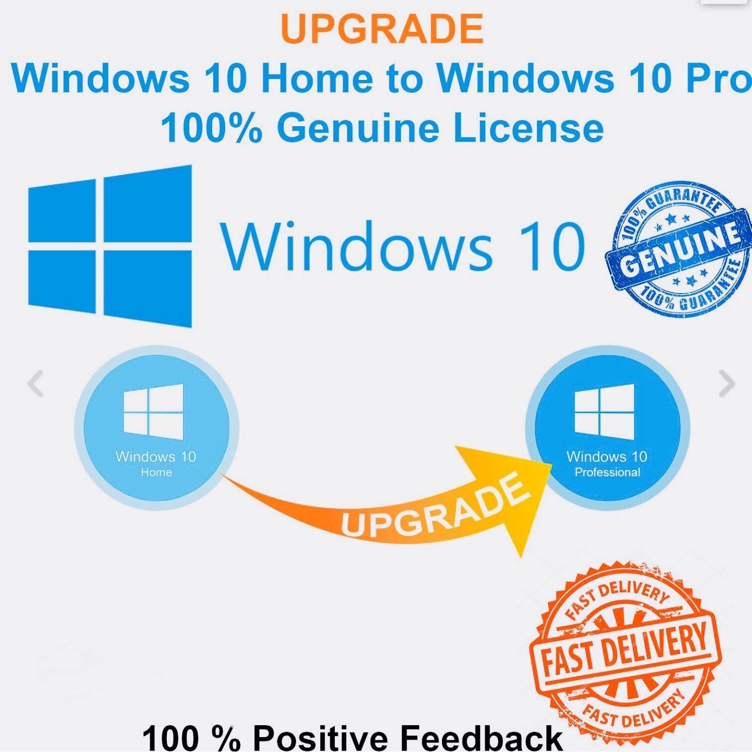 ราคา Microsoft Windows 10 Pro 32 64Bit License Oem Only Key And Upgrade Home To Pro ใด้ เฉพาะ Key เป็นต้นฉบับ