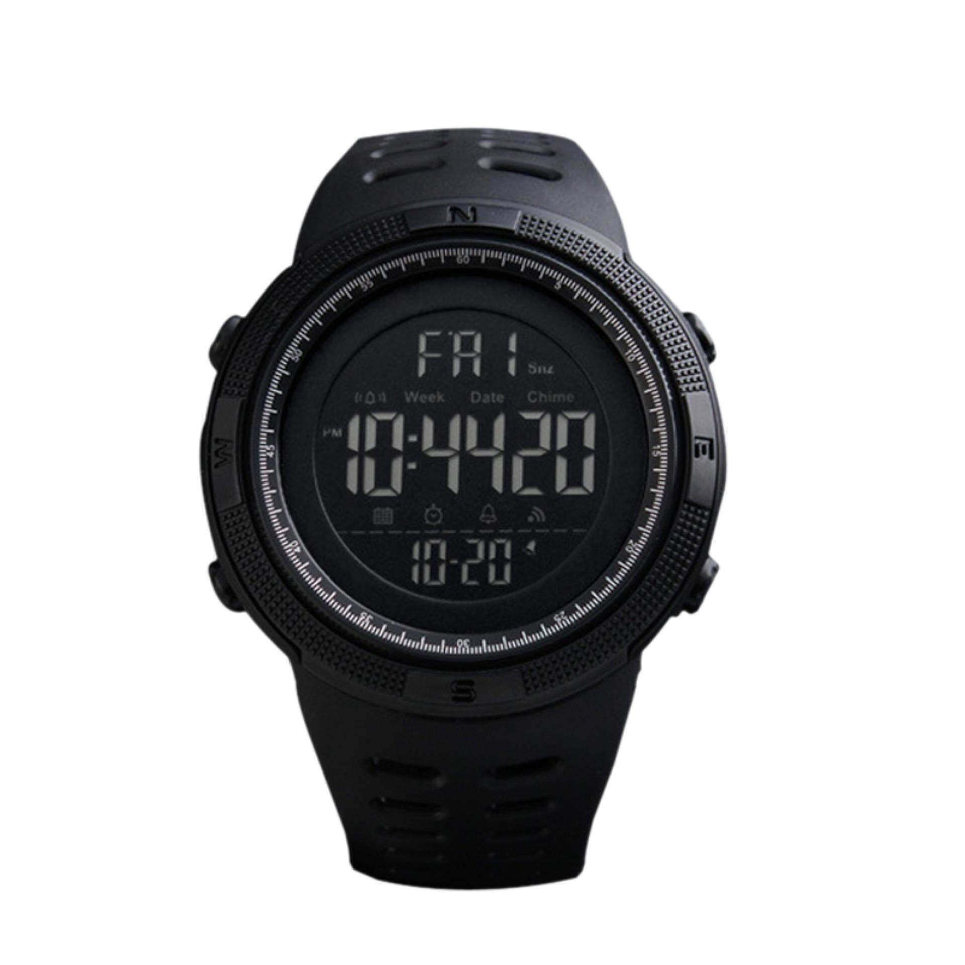 ขาย นาฬิกาข้อมือดิจิตอล มัลติฟังชั่น สายเรซิน Skmei Sk 1251 พร้อมกล่อง สีดำ เป็นต้นฉบับ