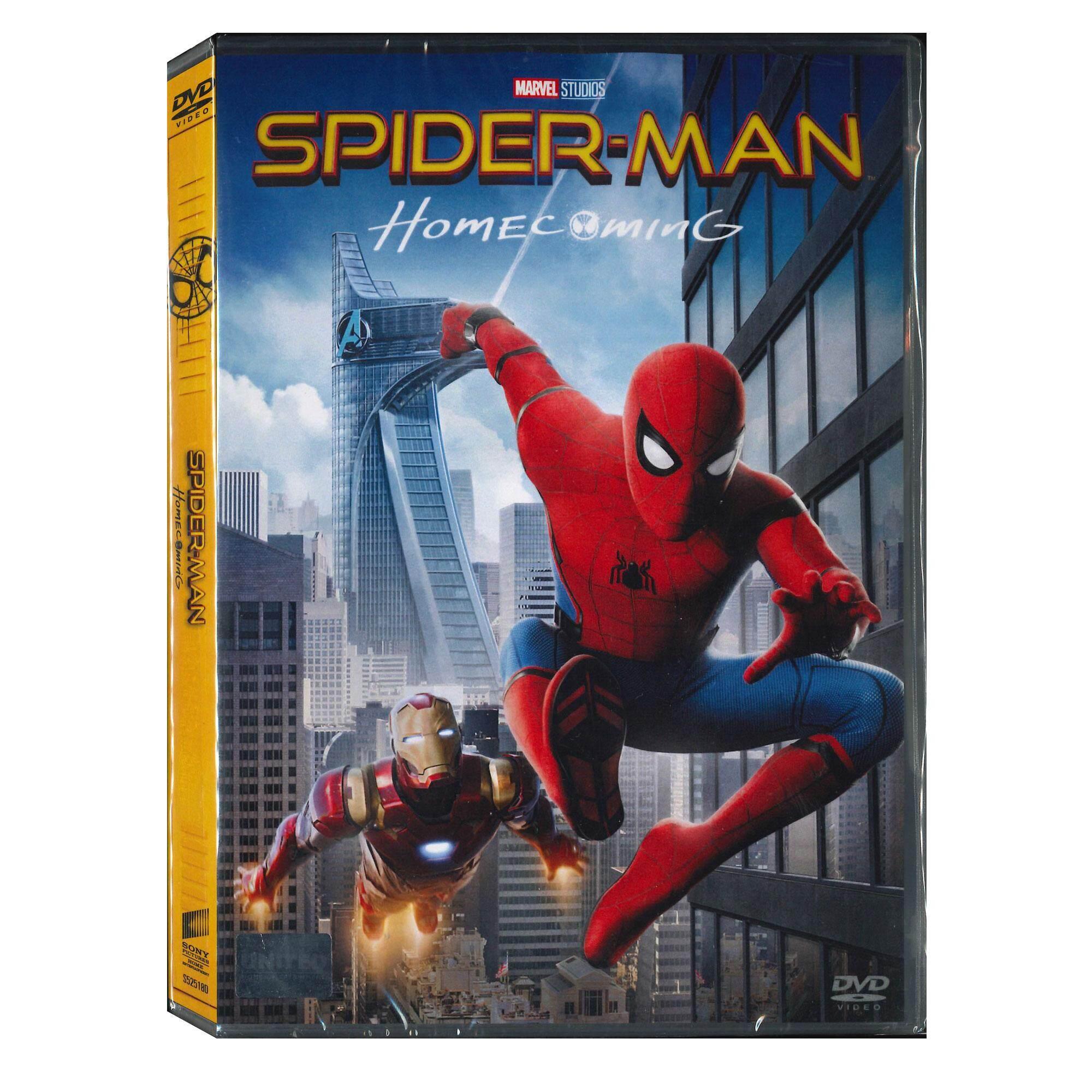 Media Play Spider-Man: Homecoming/สไปเดอร์แมน โฮมคัมมิ่ง (dvd).