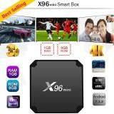 ยี่ห้อนี้ดีไหม  อ่างทอง กล่องทีวีแอนดรอยด์ X96 Mini Android 7.1.2 Amlogic S905W New Android TV Box (4K Ram1GB  Rom8GB)