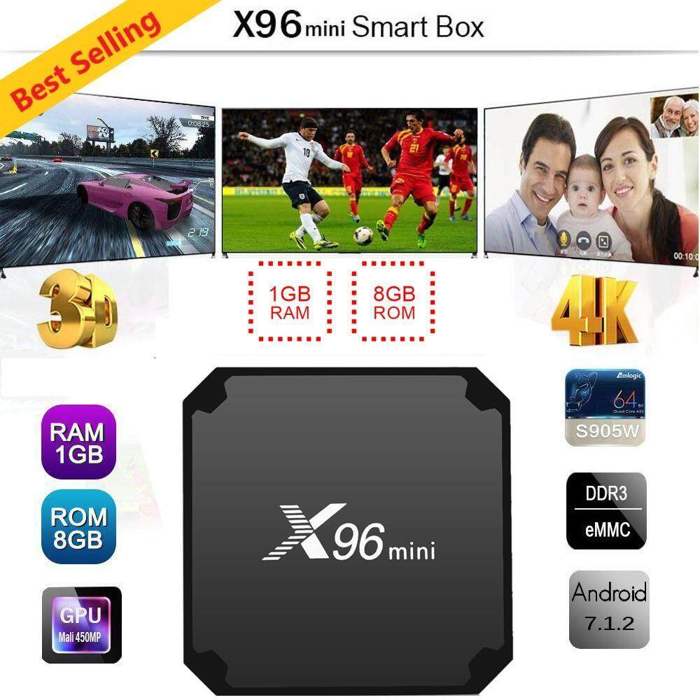 ยี่ห้อไหนดี  สมุทรสงคราม รายละเอียดสินค้า กล่องทีวีแอนดรอยด์ MXQ X96 Android Smart Box UHD 4K 64Bit Cpu Android Marshmallow 6.0 (1GB/8GB) Chipset Amlogic S905X Quad-Core 64bit Cortex-A53 at 2.0 GHz GPU Penta-Core Mali-450 at 750MHz+ Android OS Marshmallow 6.0 eMMC ROM 8GB SDRAM 1