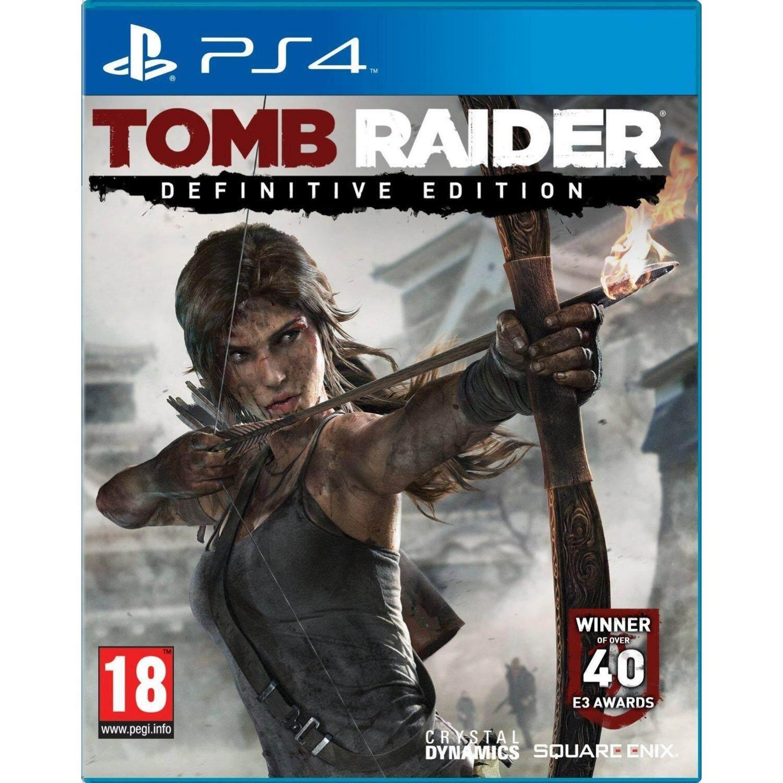 PS4 TOMB RAIDER DEFINITIVE EDITION (EURO)