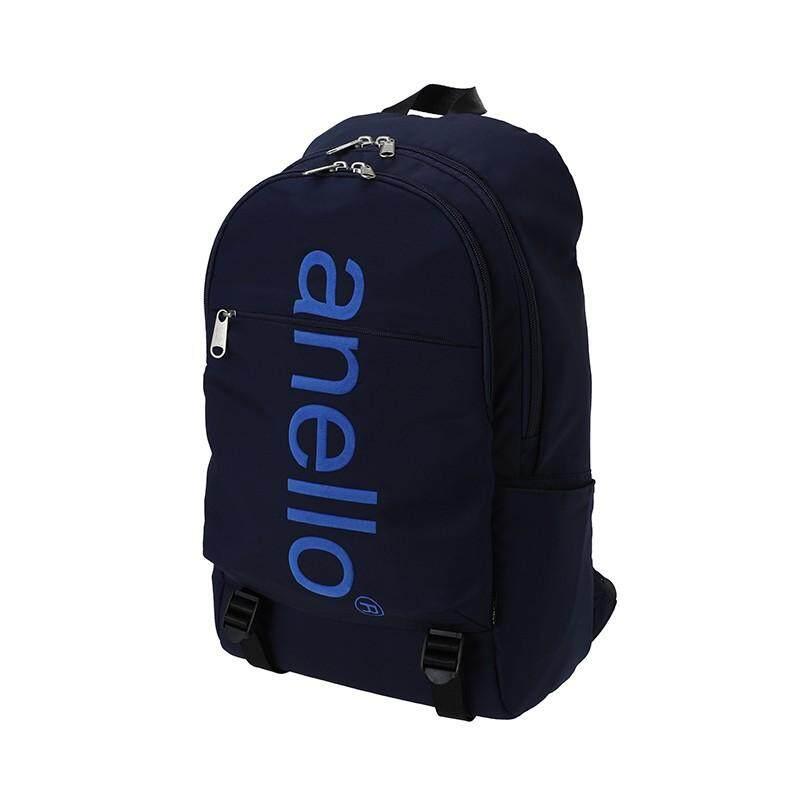 สอนใช้งาน  อุทัยธานี กระเป๋าเป้ Anello Big Logo Print Day-pack - Japan Imported 100%