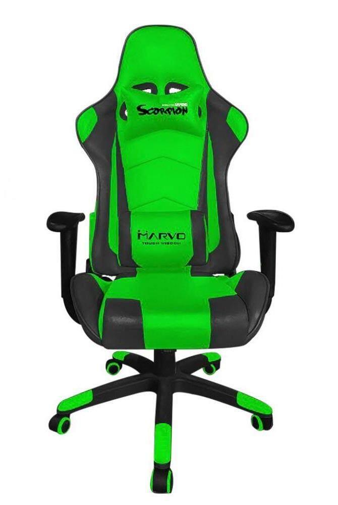 การใช้งาน  เก้าอี้เล่นเกมส์ Marvo CH-111 Gaming Chair ค่าจัดส่งฟรี
