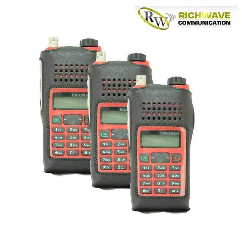 HYT ซองหนังวิทยุสื่อสาร รุ่น Power 245, 580VR, 580V-T 3 ซอง