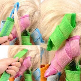 โรลม้วนผม เมจิกโรล Magic leverag Hair roller ทำผมโปเต้ ดัดผมลอน อุปกรณ์ทำผม image