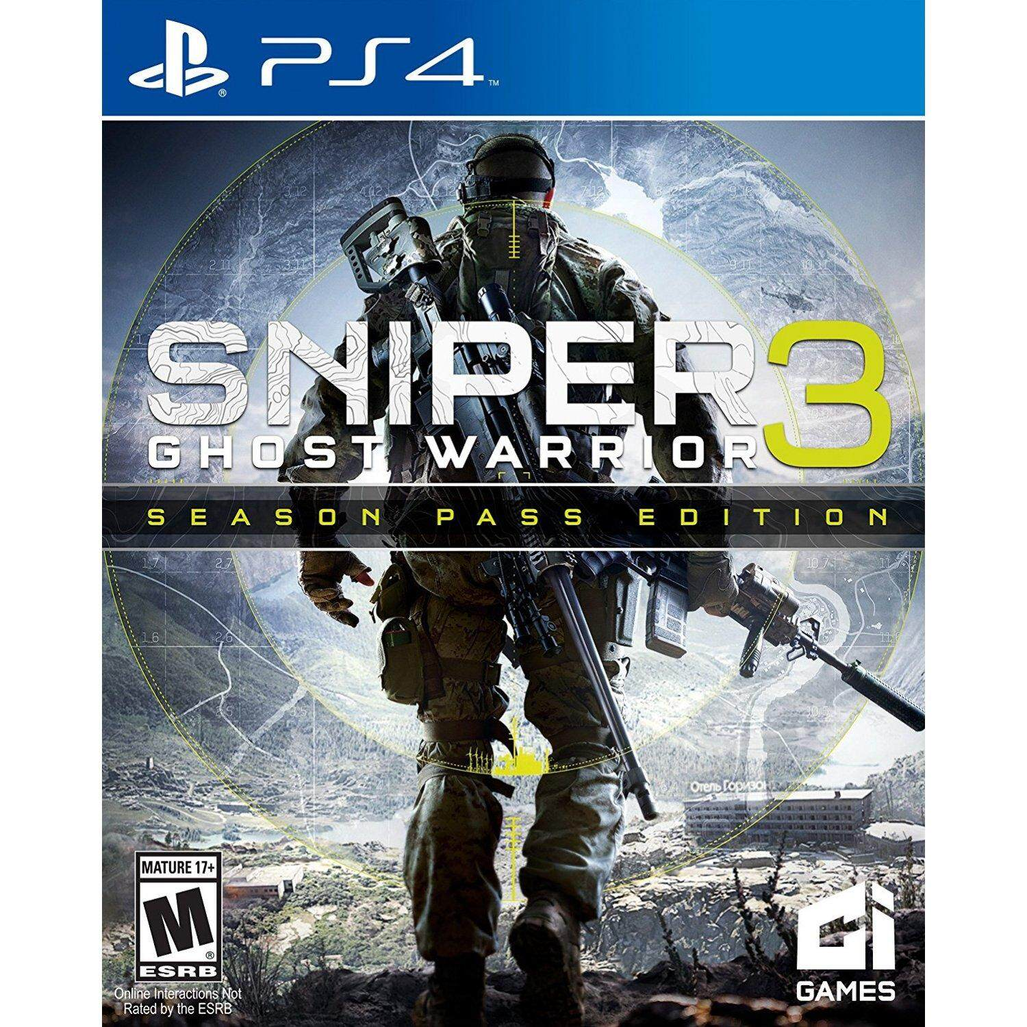 ps4 sniper ghost warrior 3 ( english zone1 )