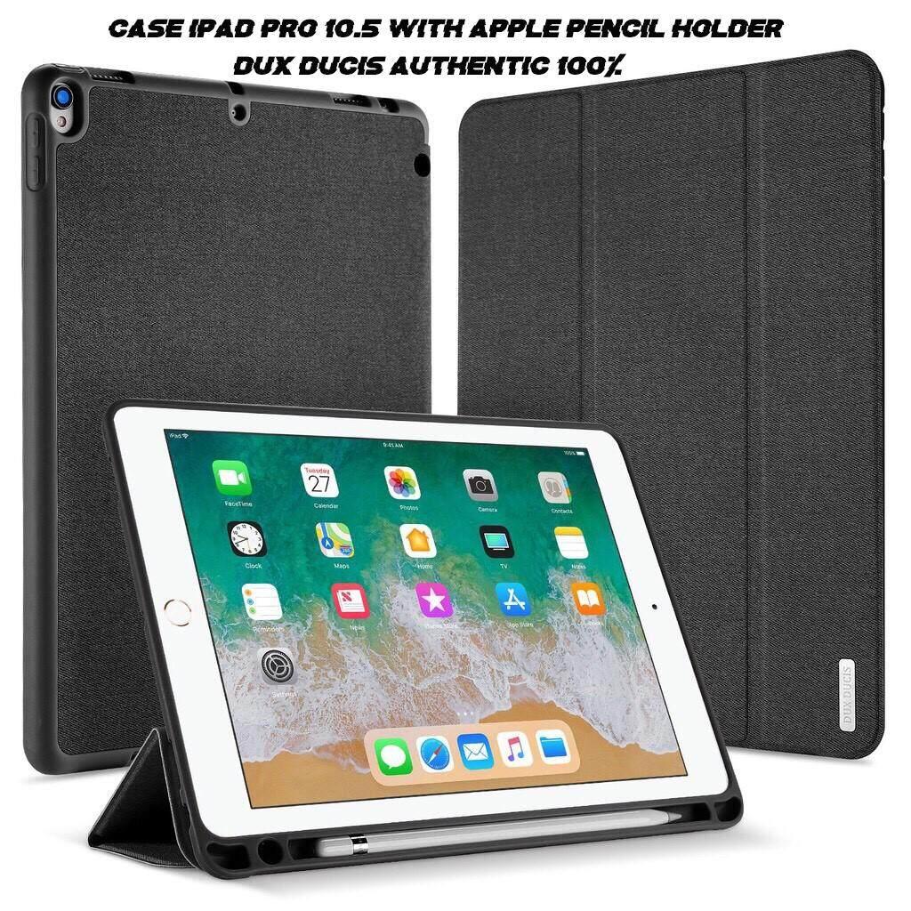 เคสไอแพด โปร10.5 Dux Ducis ของแท้ 100% รุ่น Domo series มีที่เก็บปากกา (ใส่ด้วยกันกับไอแพดรุ่น Air3 2019 10.5  ได้) case iPad Pro 10.5 with Apple pencil holder (Case iPad Air3 2019 compatible) พร้อมส่ง!!!