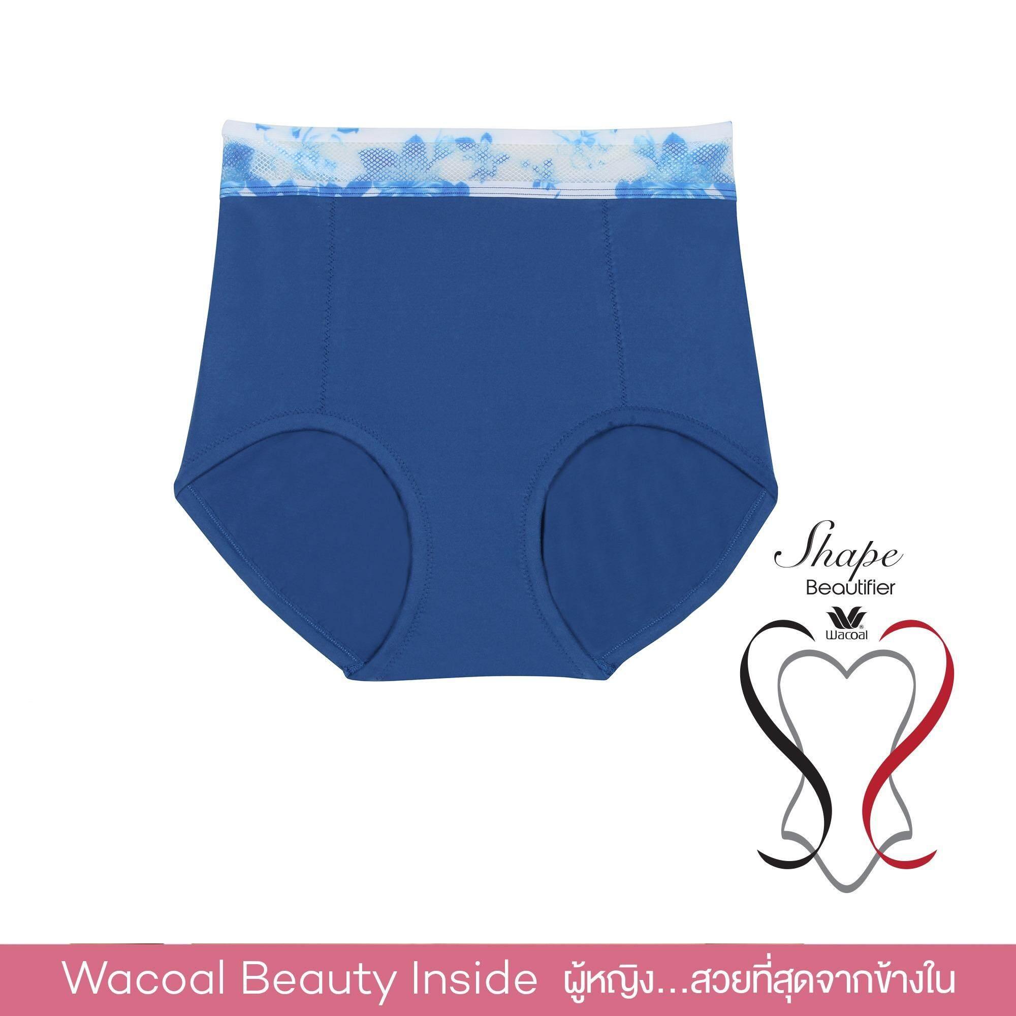 Wacoal Shape beautifier Pants กางเกงเก็บกระชับ (สีน้ำเงิน/BLUE) - WY1298BU