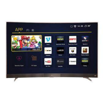 TCL TV: LED49P3CS SMART TV TCL<49FHD SMART CURVED