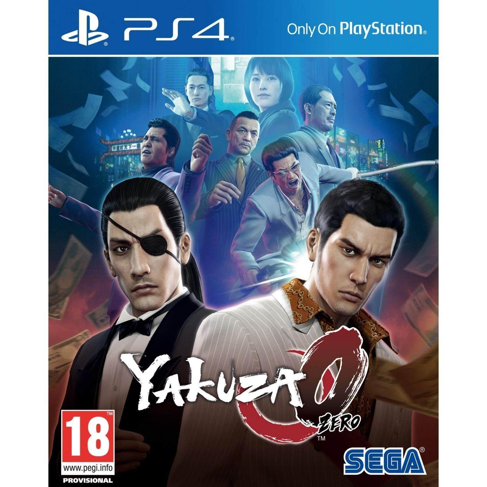 PS4 Yakuza 0 ( english zone2 )