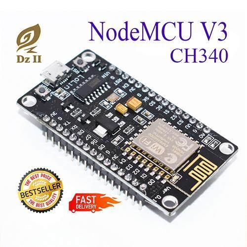 (new) โมดูล Nodemcu V3 Esp8266 Esp-12e + Usb Ch340.