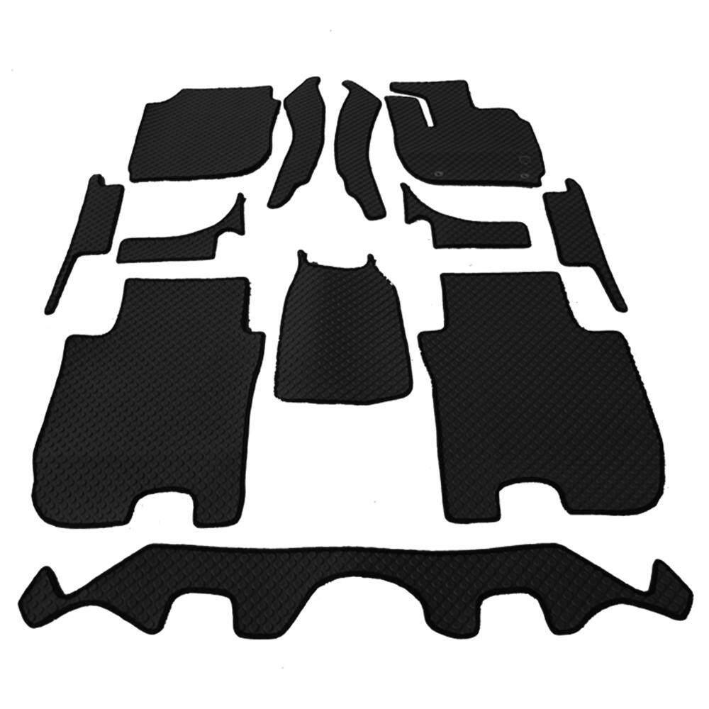 ซื้อ Auto Cover พรมรถยนต์ All New Honda Jazz 2014 2018 พรมกระดุม Super Save ชุด Full 12 ชิ้น สีดำ