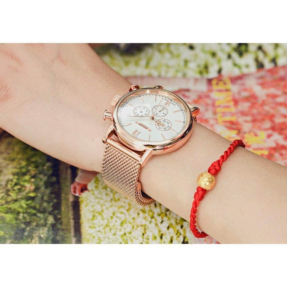 ราคา Julius Homme นาฬิกาข้อมือผู้ชาย รุ่น Jah 090 สีโรสโกลด์ Rosegold Julius Watch By Sp Brandname นนทบุรี