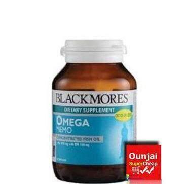 สอนใช้งาน  ตาก Blackmores Omega Memo บำรุงสมอง เสริมความจำ 60 แคปซูล