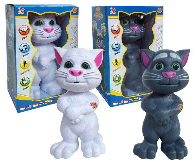 แมวทอมแค็ท รุ่นอาเซียน พูดได้ 10 ภาษา.