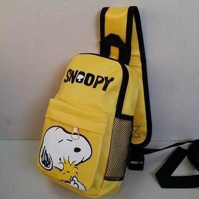 สุดยอดสินค้า!! ส่งฟรี kerry!!! ขาย เป้คาดอก เป้เฉียง เป้สะพายเฉียง Sholder bag Snoopy สนู๊ปปี้